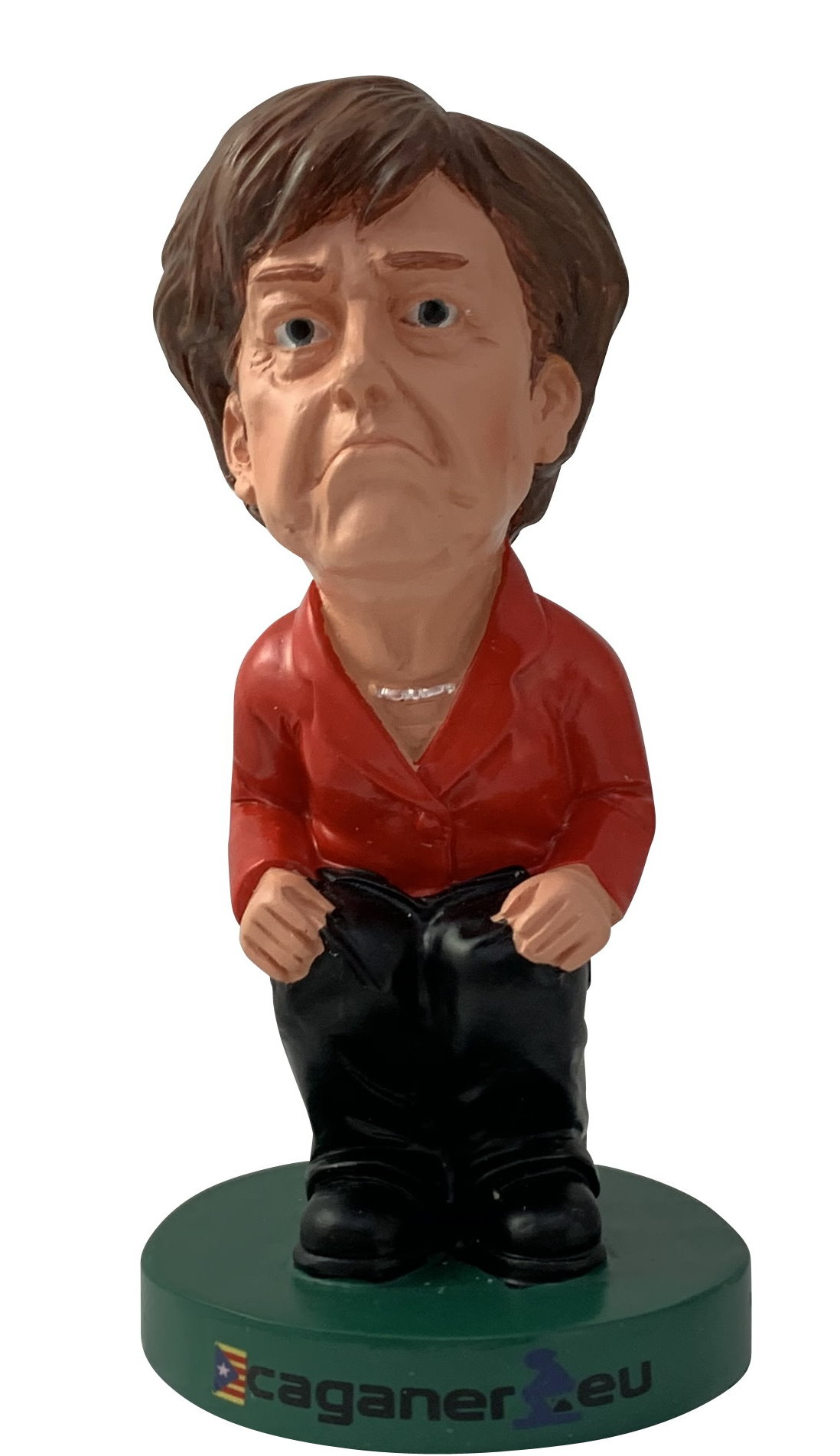 Caganer Figur Merkel